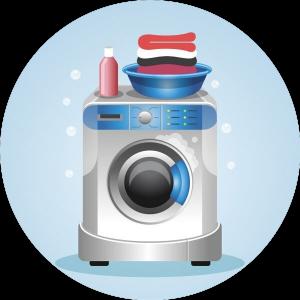 airbnb lakás ágyneműk mosása szárítása